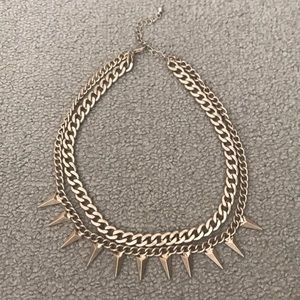 Gold double layer Zara necklace